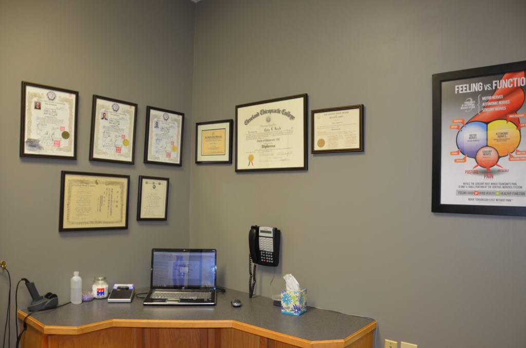 CORE Score Station at Olathe Chiropractor Office